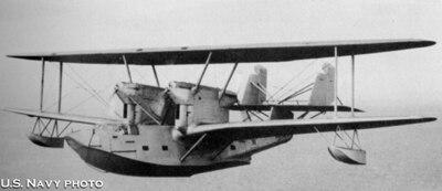 Hall XP2H-1 in Flight