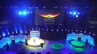 Halo: Reach - Image: Halo Reach e 3 2009 trailer