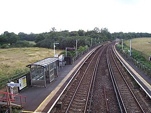 Hamble railway station - Image: Hamble railway station
