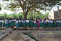 Hampi, school class, girls of India 2013.jpg
