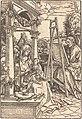 Hans Burgkmair I, Saint Luke Painting the Portrait of the Virgin, 1507, NGA 5289.jpg