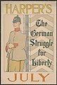Harper's (for) July. The German struggle for liberty LCCN2015646448.jpg