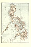 "Map of the Philippines from ""Harper's Pictorial History of the War with Spain"" Vol. II (1899)"