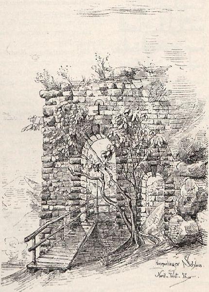 File:Harpolinger Schloss Nord-West Tor.jpg