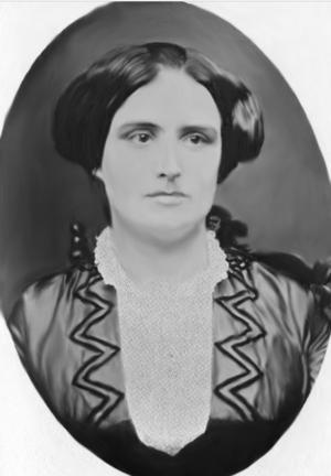 Harriet Hanson Robinson - Harriet Hanson in 1843