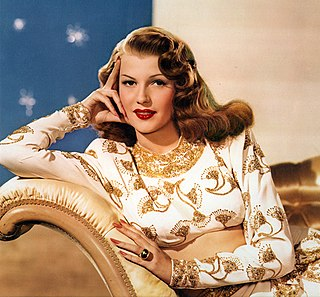 Rita Hayworth American actress, dancer and director