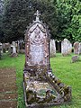 Headstone at St Andrew's Church, Newton Tony - geograph.org.uk - 576024.jpg
