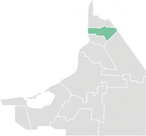 Hecelchakán Municipality - Hecelchakán municipality within Campeche