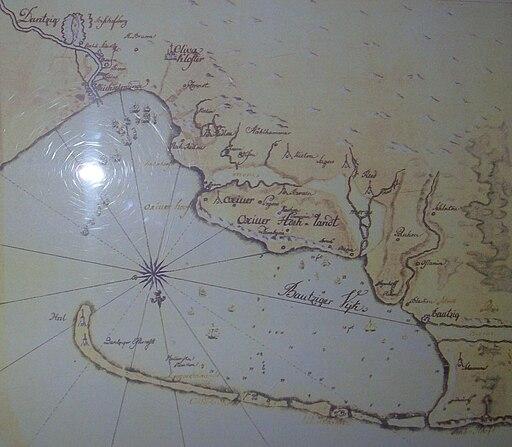 Hel spit - old map