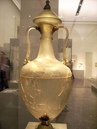Berlin glass amphora from Olbia - The amphora from the other side