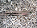 Hellfire Pass railway sleeper.JPG
