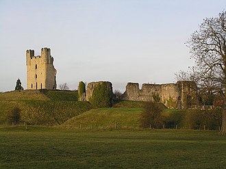 George Manners, 11th Baron de Ros - Helmsley Castle, seat of the Manners family