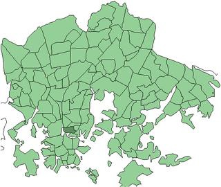 Linjat Helsinki Subdivision in Uusimaa, Finland