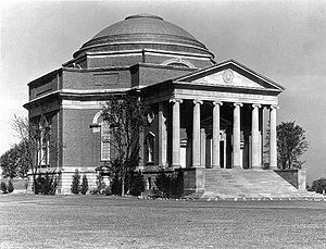 Dwight James Baum - Hendricks Chapel, Syracuse University designed with John Russell Pope and constructed 1929–1930