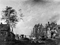 Hendrik Frans de Cort - Village Scene on a River - Walters 37785.jpg