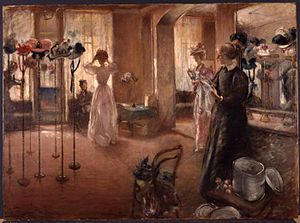 Henry Tonks - Image: Henry Tonks The Hat Shop