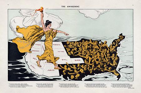 Henry Mayer, The Awakening, 1915 Cornell CUL PJM 1176 01 - Restoration