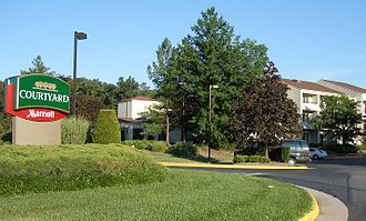 Courtyard by Marriott - A typical Courtyard by Marriott, in Herndon, Virginia