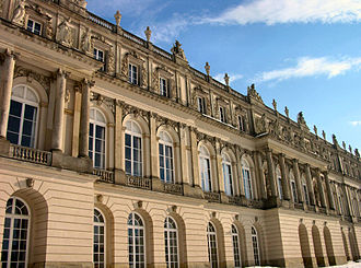 Herrenchiemsee - Front of the New Palace