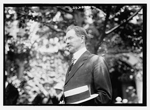 John Grier Hibben - Hibben on June 13, 1914 at Princeton University graduation.