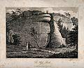 High Rocks, Tunbridge Wells, Kent. Etching by Letitia Byrne, Wellcome V0014558.jpg