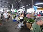 Farmer's market in Hilo