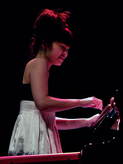Hiromi Uehara Japanese-born jazz composer and pianist (1979-)