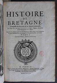 Histoire de Bretagne composée sur les titres & les auteurs originaux cover