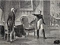 """Historia del Consulado y del Imperio, 1879 """"Célebre entrevista de M. de Metternich con Napoleón - último reto del emperador"""". (4268283413).jpg"""
