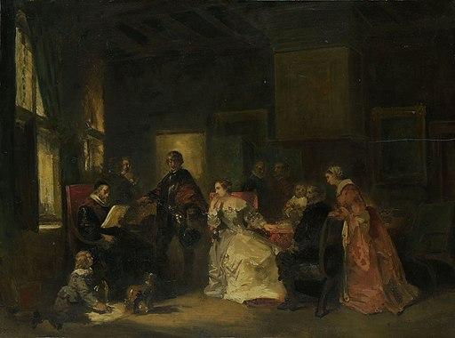 Historische scène met Willem de Zwijger? Rijksmuseum SK-A-3877