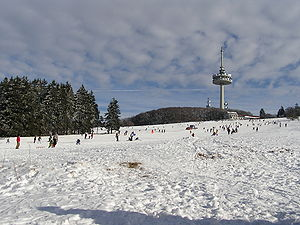 Middle Hesse - The Vogelsberg in winter