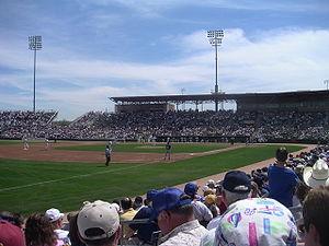 Hohokam Stadium - Image: Hohokam Park