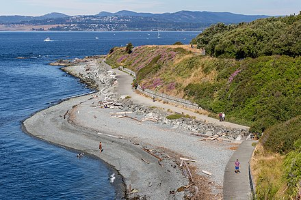 Shoreline Trail in Victoria Holland Point Shoreline Trail, Victoria, British Columbia, Canada 05.jpg