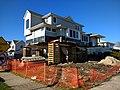 Home in Long Beach New York Being Raised 2017.jpg