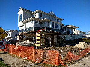 Hurricane sandy wikipedia for Cost to build a house in wisconsin