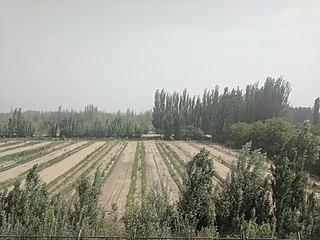 Hotan County County in Xinjiang, Peoples Republic of China