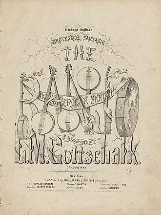 The Banjo (Gottschalk) - Image: Houghton 62 2162 Gottschalk, The Banjo