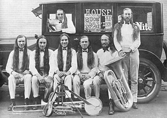 House of David (commune) - House of David Band in 1915.