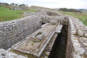 Cuneus Frisionum - Image: Housesteads latrines