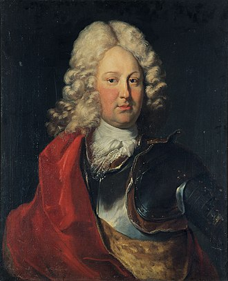 Charles III William, Margrave of Baden-Durlach - Margrave Karl III. Wilhelm of Baden-Durlach, 1710, by Johann Rudolf Huber