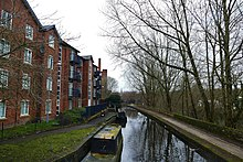 Huddersfield canal seen from the Basin.jpg