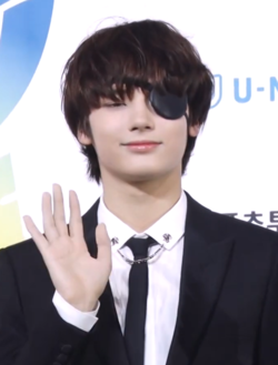 Huening Kai at Soribada Awards on August 23, 2019.png