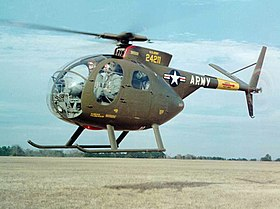 Un OH-6 Cayuse dell'US Army