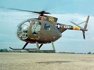 single-engine light helicopter