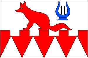 Hukvaldy - Image: Hukvaldy vlajka