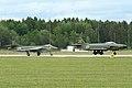 Hunter F58 34033 (SE-DXM) & J32E Lansen 32620 at Malmen 2012 (8383956469).jpg