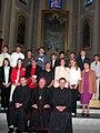 Huzsvar-priests-confirmees-2004.jpg