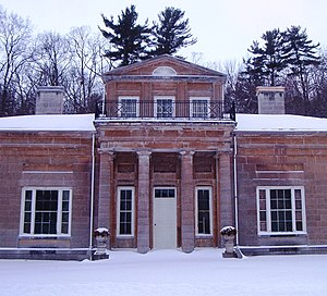 Hyde Hall - Image: Hyde Hall front december 2007