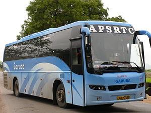 Volvo B7R - Image: Hyderabad volvo