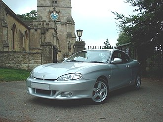 Hyundai Tiburon - Hyundai Coupe F2 Evolution (UK)
